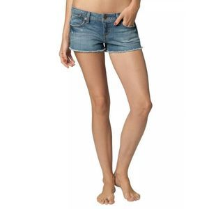 $49 Fox Racing Women's Joyride Denim Short Size 1